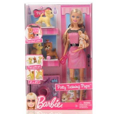 Купувам Кукла Barbie - Barbie с три домашни любимци