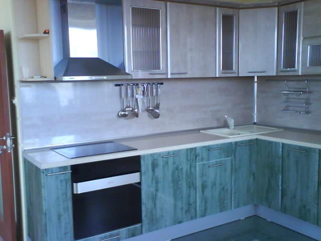 Купувам Кухня Синьо - зелена (200 см)