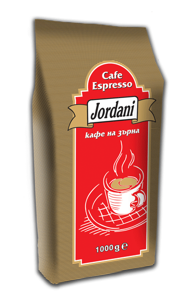 Купувам Кафе на зърна Jordani espresso 1кг.