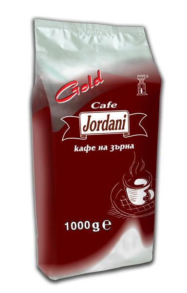 Купувам Кафе на зърна Jordani Gold 1кг.