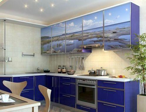 Купувам Кухня в синьо