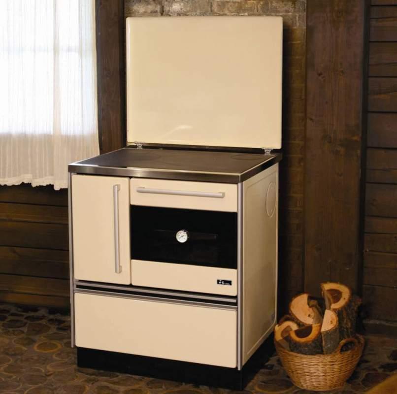 Купувам Готварска печка MBS Royal 720 Бял – Десен комин