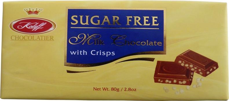 Купувам Шоколад млечен с крисп SugarFree