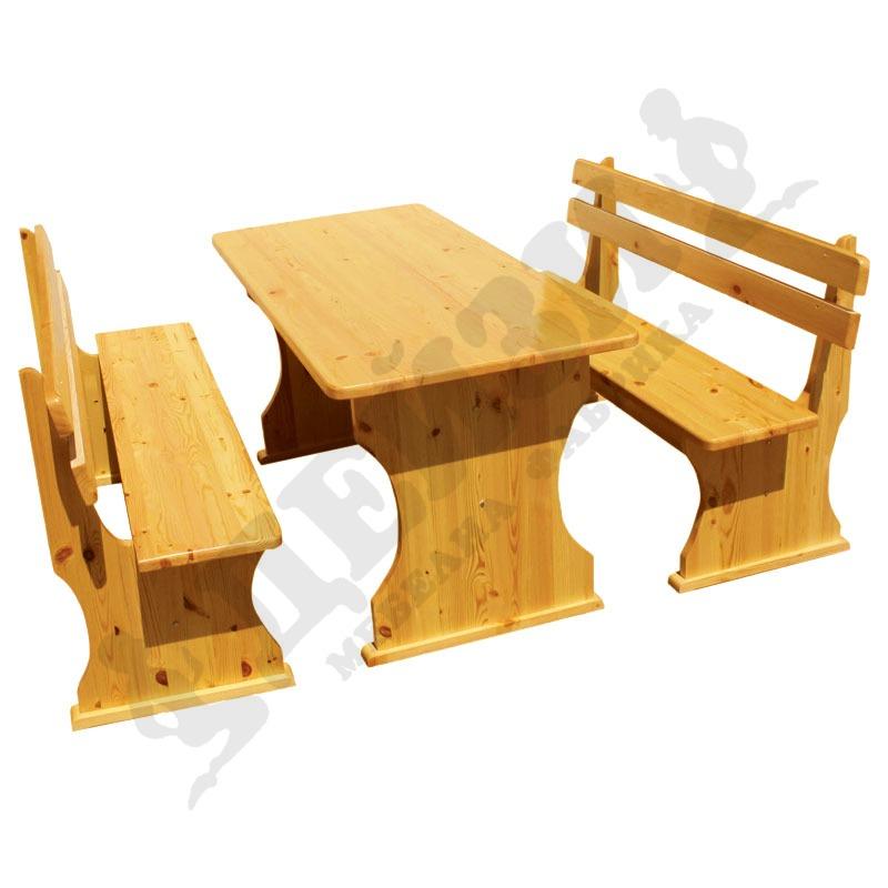 Купувам Комплект маса и пейки 150 см - Продуктов код: 01441