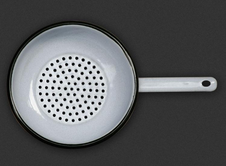 Цедка-гевгир с метална арматура