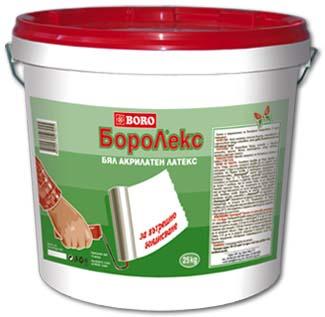 Латекс за вътрешно боядисване Боролекс