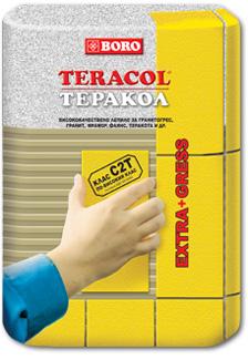 Теракол, Лепило за плочки клас С2