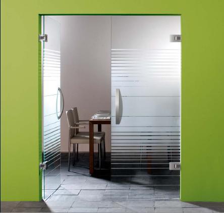 Купувам Стъклени врати със стандартна система за остъкляване