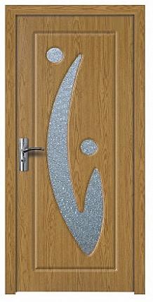 Купувам Интериорна HDF врата цвят Светъл дъб