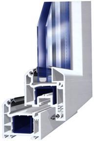 Купувам Трикамерна ПВЦ система Weiss Profil