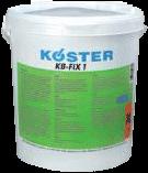 Водоустойчив цимент Köster КВ-Фикс 1
