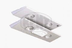 Осветителни тела за мебели L600 с две халогенни