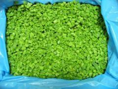 Чушки зелени нарязани замразени