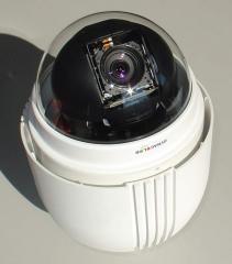 Full HD 1080p високоскоростна мрежова куполна