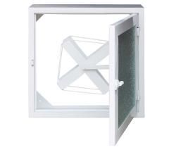 Метално табло за външен монтаж бяло