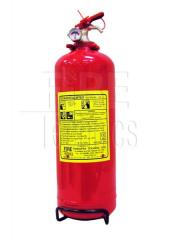 Прахов пожарогасител 2кг. BC / ABC