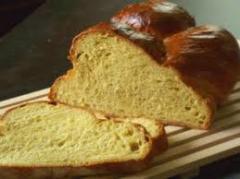 Чеснов хляб със синьо сирене