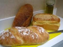 Хляб с картофен огретен