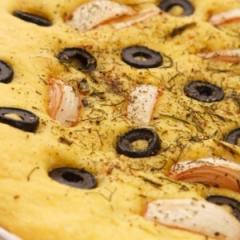 Гръцка питка с маслини
