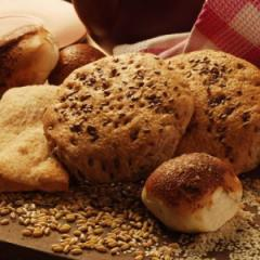 Пълнозърнести хлебчета