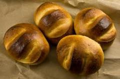 Бял ябълков хляб