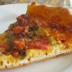 Пица от готово тесто с колбас