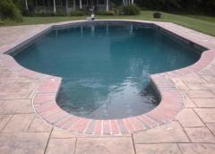 Настилка за басейн