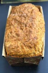 Бърз хляб с бира и чубрица