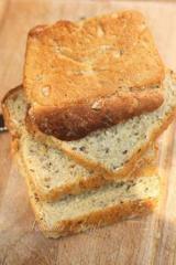 Хляб с овесени трици и ленено семе