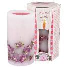 Ароматна свещ роза с етерично масло - кутия 1 кг.