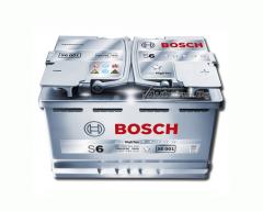 Акумулатор BOSCH Silver S6 70Ah 760 R+