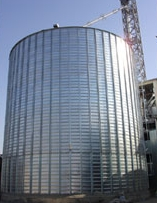 Silage towers