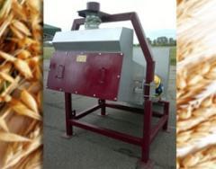 Vibroseparator centrifugal grain
