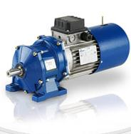 Reduction motor cylindrical coaxial