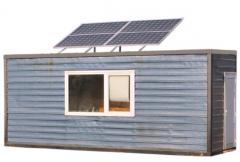 Фотоволтаична система за строителен контейнер