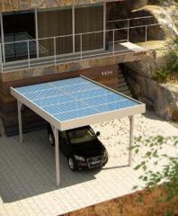 Единичен фотоволтаичен навес SIMPLE