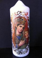 Свещ със Света Богородица