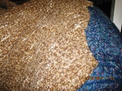 Вълнен плат-плетиво №447-2