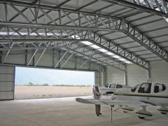 Hangars for maintenance service of aircraft