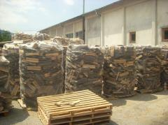 Дърва, нарязани, за огрев