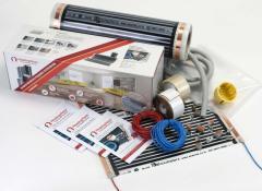 Infrared radiator folioMASTER sets of IR film
