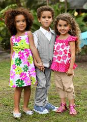 Цветна рокля