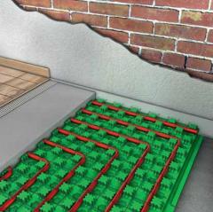 Лъчисти водни подови отоплителни системи GIACOCLIMA