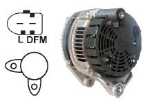 Алтернатор 12V 150 Amp