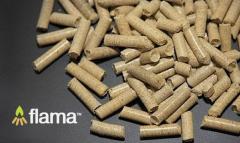 Дървесни пелети Flama