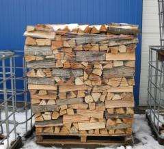 Дърва, материал, за огрев, дъб
