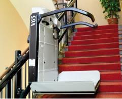 Стълбищни платформи за прави стълбища, платформи
