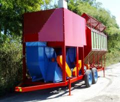Mobile grain dryers