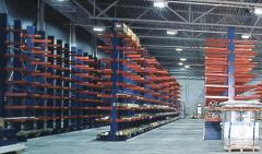 Shelvings for shank, rods, beams, straps and pipes