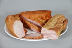 Варено-пушени продукти от нераздробено месо